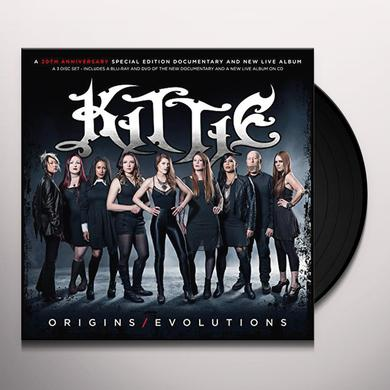 KITTIE: ORIGINS/EVOLUTIONS Vinyl Record