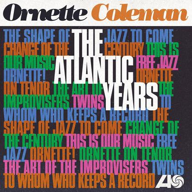 Ornette Coleman ATLANTIC YEARS Vinyl Record