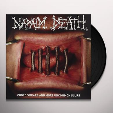 Napalm Death CODED SMEARS & MORE UNCOMMON SLURS Vinyl Record