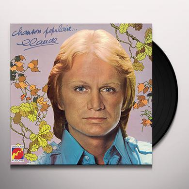 Claude Francois CHANSON POPULAIRE Vinyl Record