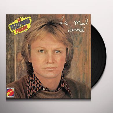 Claude Francois LE MAL AIME / LE TELEPHONE PLEURE Vinyl Record