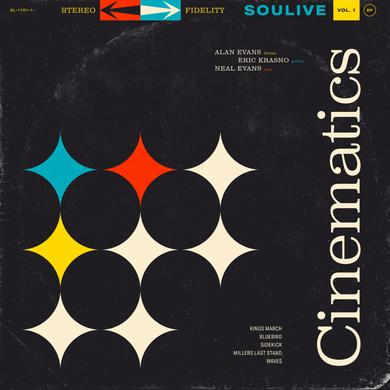 Soulive CINEMATICS VOL. 1 Vinyl Record