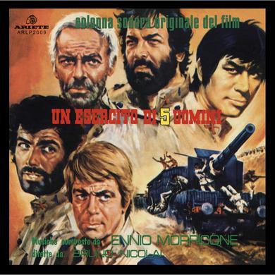 Ennio Morricone UN ESERCITO DI 5 UOMINI Vinyl Record
