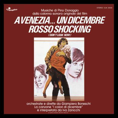 Pino Donaggio VENEZIA UN DICEMBRE ROSSO SHOCKING Vinyl Record