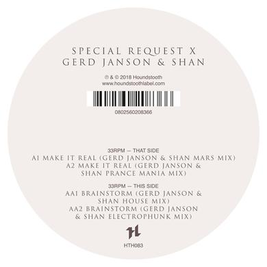 SPECIAL REQUEST X GERD JANSON & SHAN Vinyl Record