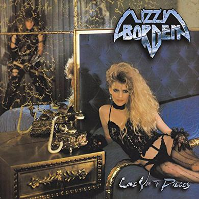 Lizzy Borden LOVE YOU TO PIECES Vinyl Record