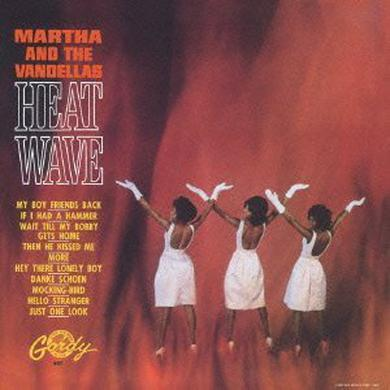 Martha & The Vandellas HEAT WAVE Vinyl Record