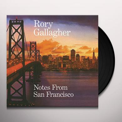 Rory Gallagher NOTES FROM SAN FRANCISCO Vinyl Record