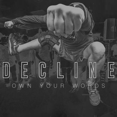 Decline OWN YOUR WORDS Vinyl Record - Blue Vinyl
