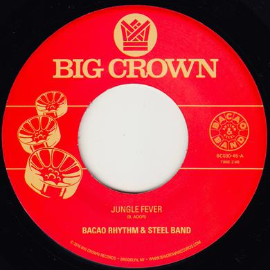 Bacao Rhythm & Steel Band JUNGLE FEVER / TENDER TRAP Vinyl Record
