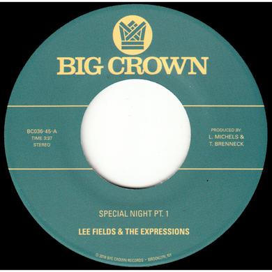 Lee Fields SPECIAL NIGHT Vinyl Record