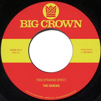 SHACKS THIS STRANGE EFFECT / HANDS IN YOUR POCKET Vinyl Record