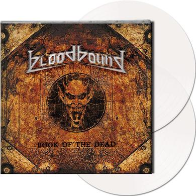Bloodbound BOOK OF THE DEAD (CLEAR VINYL) Vinyl Record