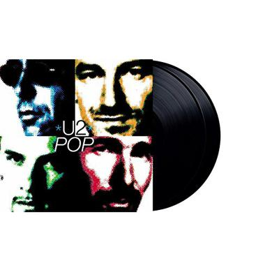U2 POP Vinyl Record