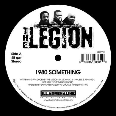 Legion 1980 SOMETHING / HEARD WE QUIT Vinyl Record