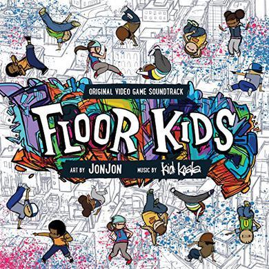 Kid Koala FLOOR KIDS Vinyl Record