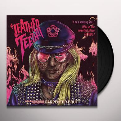 Carpenter Brut LEATHER TEETH Vinyl Record