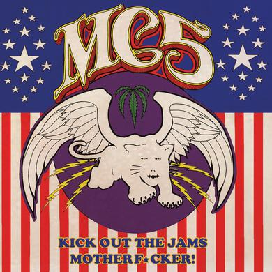 mc5 KICK OUT THE JAMS MOTHERFUCKER Vinyl Record