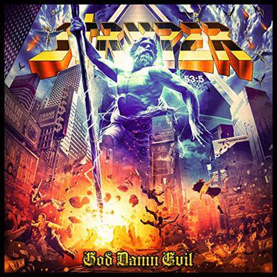 Stryper GOD DAMN EVIL Vinyl Record