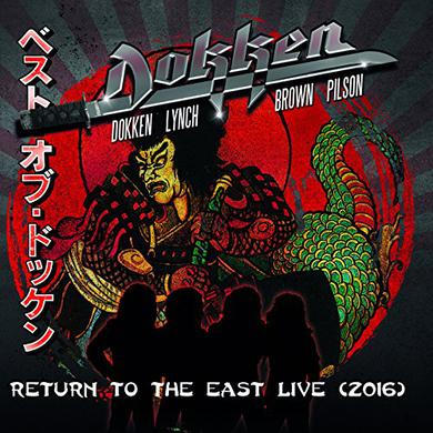 Dokken RETURN TO THE EAST LIVE 2016 Vinyl Record