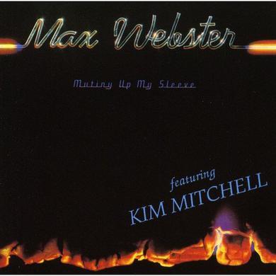 Max Webster MUTINY UP MY SLEEVE Vinyl Record