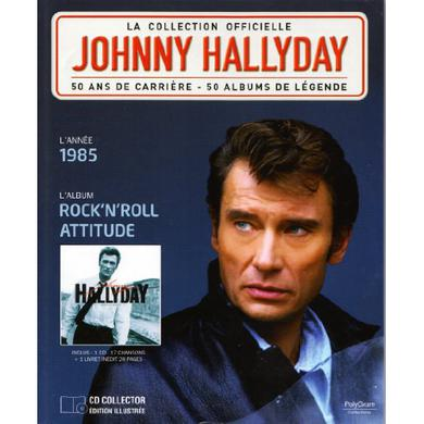 Johnny Hallyday ROCK N ROLL ATTITUDE Vinyl Record