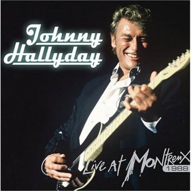 Johnny Hallyday LIVE AT MONTREUX 1988 Vinyl Record