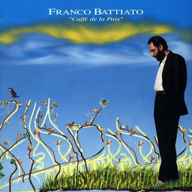 Franco Battiato CAFFE DE LA PAIX Vinyl Record