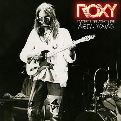 Neil Young ROXY - TONIGHT'S THE NIGHT LIVE Vinyl Record