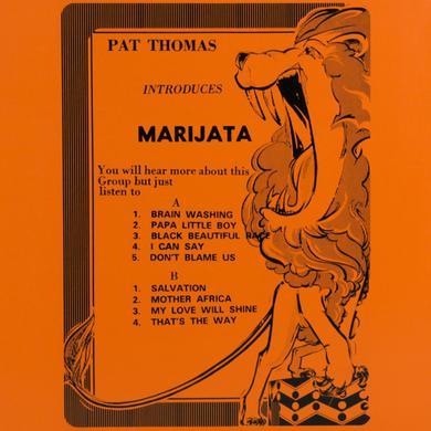 Pat Thomas INTRODUCES MARIJATA Vinyl Record