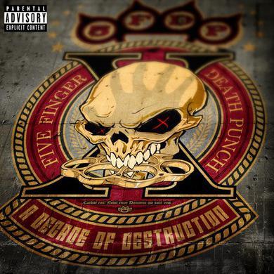 Five Finger Death Punch A DECADE OF DESTRUCTION Vinyl Record