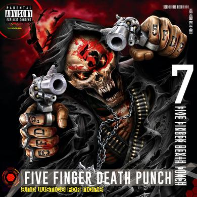 Five Finger Death Punch AND JUSTICE FOR NONE Vinyl Record