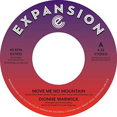 Dionne Warwick MOVE ME NO MOUNTAIN / (I'M) JUST BEING MYSELF Vinyl Record