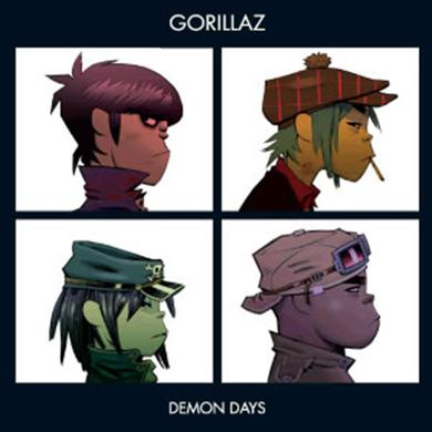 Gorillaz DEMON DAYS Vinyl Record