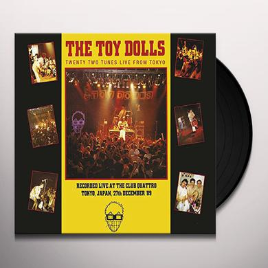 Toy Dolls TWENTY TWO TUNES LIVE FROM TOYKO Vinyl Record