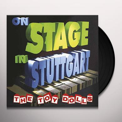 Toy Dolls ON STAGE IN STUTTGART Vinyl Record
