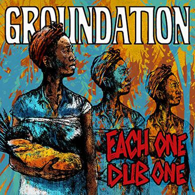 Groundation EACH ONE DUB ONE Vinyl Record