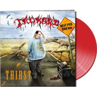 Tankard THIRST (CLEAR RED VINYL) Vinyl Record