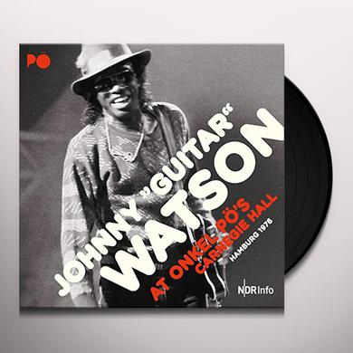 Johnny Watson AT ONKEL PO'S CARNEGIE HALL HAMBURG 1976 Vinyl Record