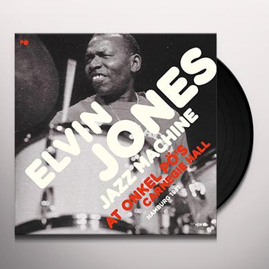 Elvin Jones AT ONKEL PO'S CARNEGIE HALL HAMBURG 1981 Vinyl Record