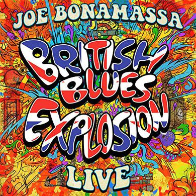 Joe Bonamassa BRITISH BLUES EXPLOSION LIVE Vinyl Record