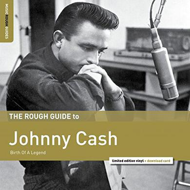 ROUGH GUIDE TO JOHNNY CASH Vinyl Record
