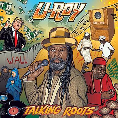U-Roy TALKING ROOTS Vinyl Record
