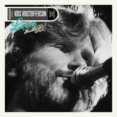 Kris Kristofferson LIVE FROM AUSTIN, TX Vinyl Record