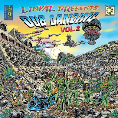 Linval Thompson LINVAL PRESENTS DUB LANDING 2 Vinyl Record