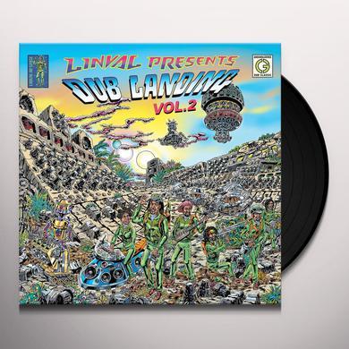 Linval Thompson LINVAL PRESENTS DUB LANDING 2 Vinyl Record