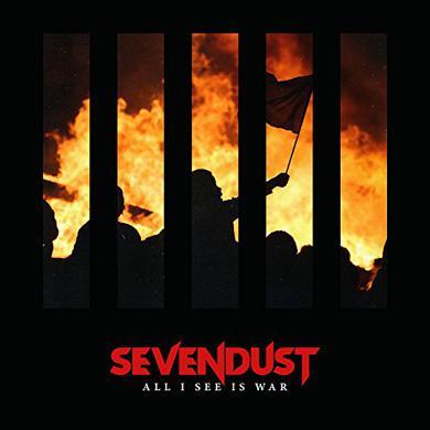 Sevendust ALL I SEE IS WAR Vinyl Record