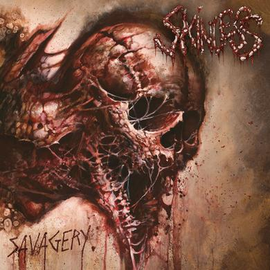 Skinless SAVAGERY Vinyl Record