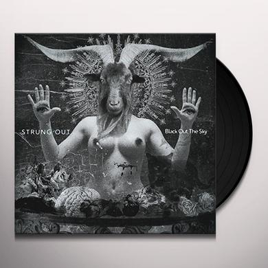 Strung Out BLACK OUT THE SKY Vinyl Record