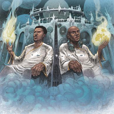 Blu & Nottz GODS IN THE SPIRIT TITANS IN THE FLESH Vinyl Record